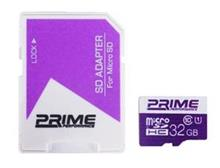 Prime UHS-I U1 Class 10 32GB 85MBps microSDHC With Adapter